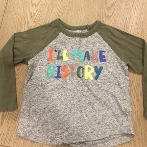 🌴Gymboree toddler baseball t-shirt size 2T🌴